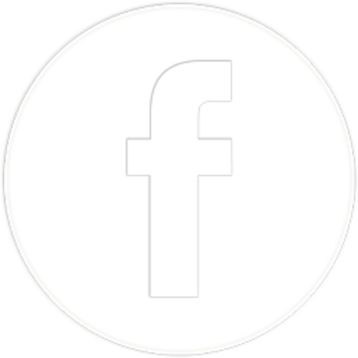 white fb icon facebook